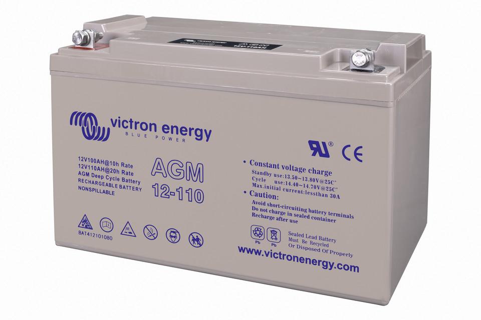 victron energy Batterie super cycle agm 12v//125ah