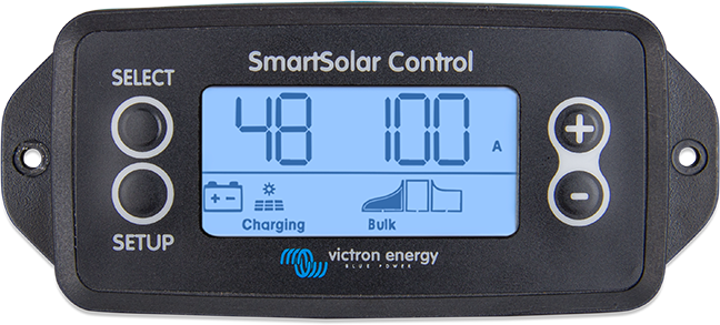 SmartSolar Control display